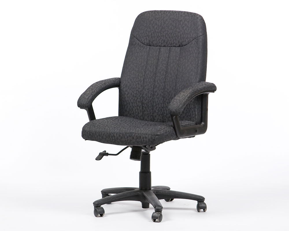 Ergonomic Arm Chair Black Modern Townrent Film Industry Event And Office Furniture Rental