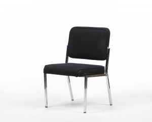 Black Stacking Chair Good For Everyday Office Furniture